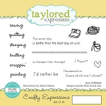 Crafty Expressions Stamp Set