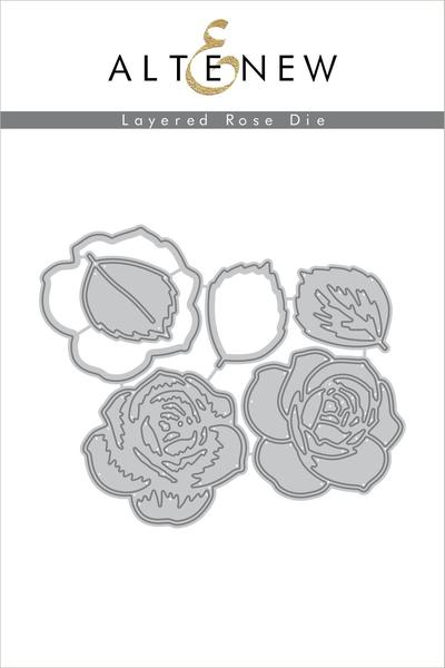 Layered Rose Dies