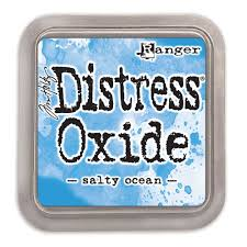 Distress Oxide Ink Pad Salty Ocean
