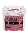 Embossing Powder Love Letter Metallic