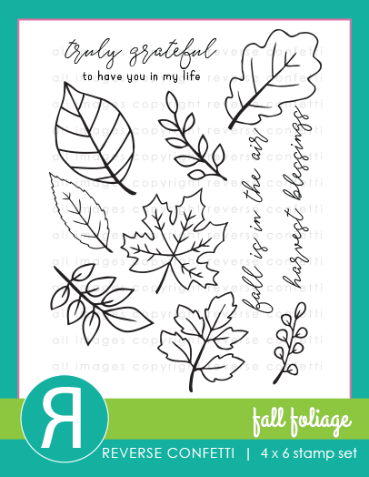 Fall Foliage Stamp Set