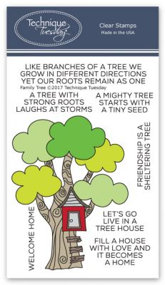 Family Tree Stamp Set