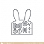 Favor Bag Accessory Bunny Dies