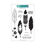 Feathered Stamp Set