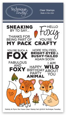 Felicity & Flynn the Foxes Stamp Set
