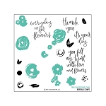 Flower Turnabout Stamp Set