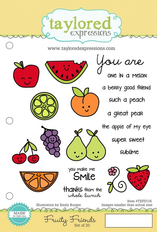 Fruity Friends Stamp Set