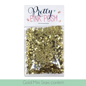 Gold Mini Star Confetti