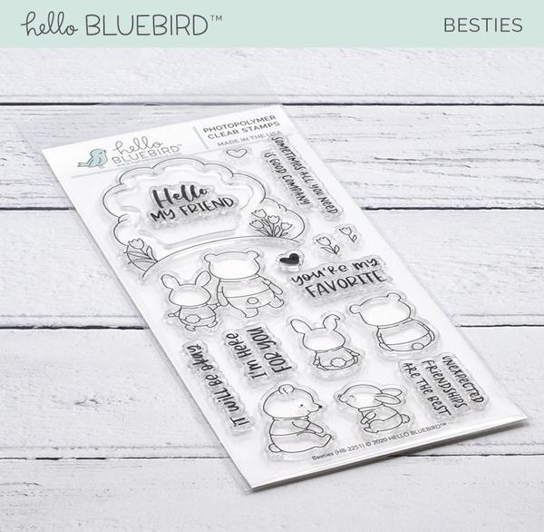 Besties Stamp Set