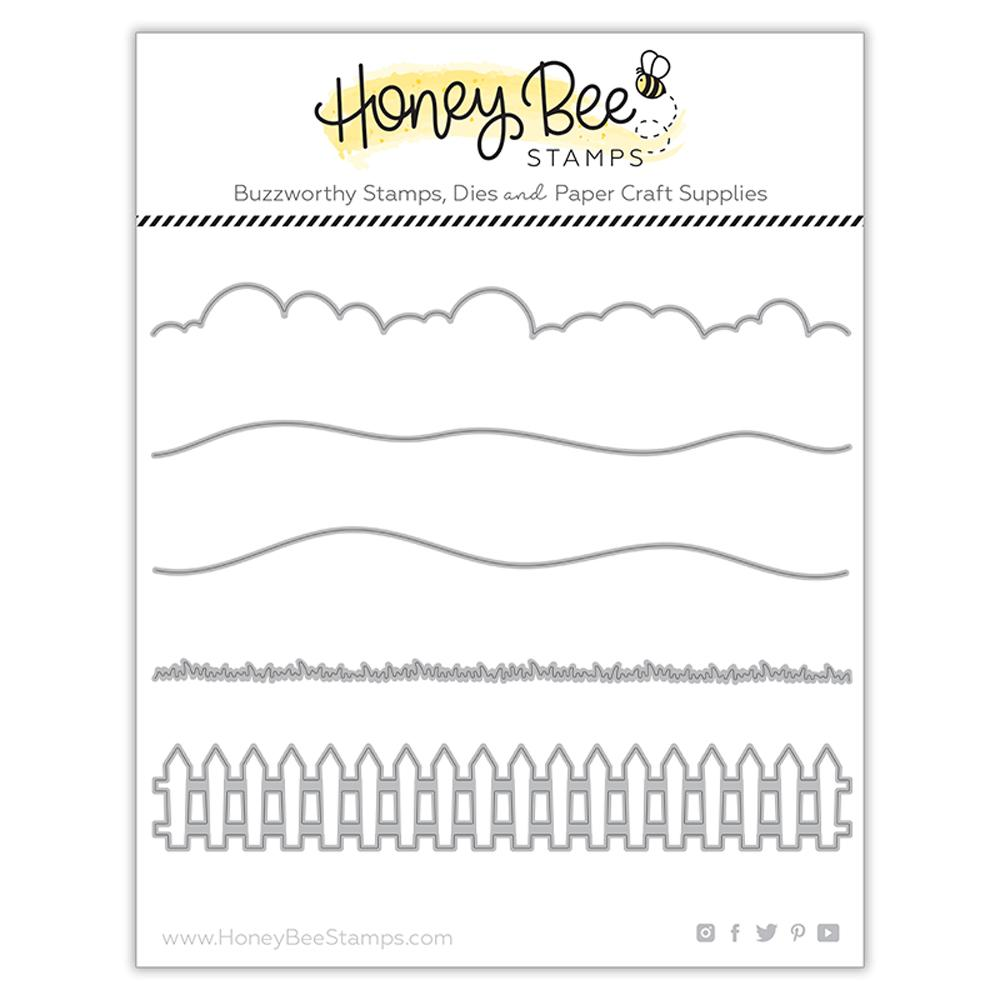 Horizon Slimline Borders Honey Cuts