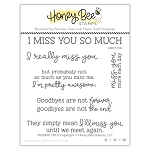 Missing You Stamp Set