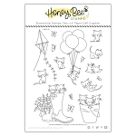 Oh My Whiskers Stamp Set