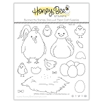 Spring Chicks Stamp Set