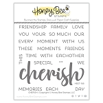 Cherish Stamp Set