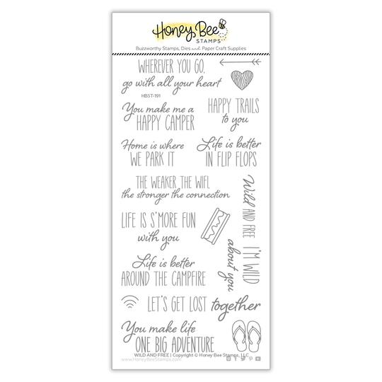 Wild and Free Stamp Set