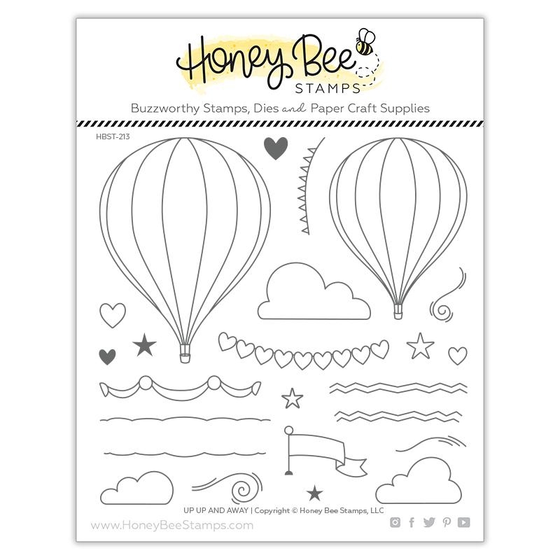 Up, Up and Away Stamp Set