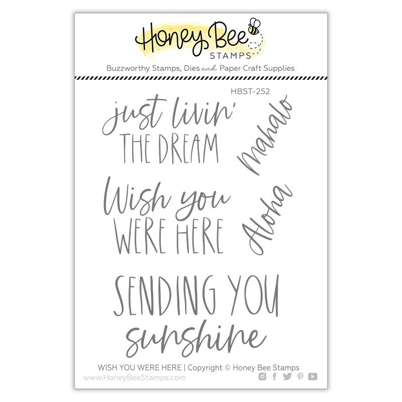 Wish You Were Here Stamp Set