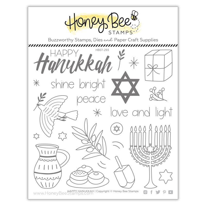 Happy Hanukkah Stamp Set