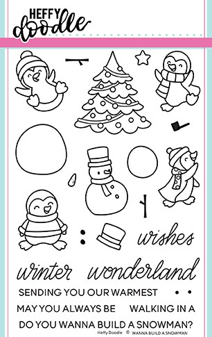 Wanna Build A Snowman Stamp Set