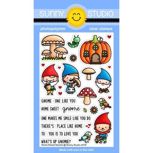 Home Sweet Gnome Stamp Set