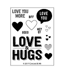 Love & Hugs Stamp Set