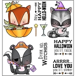 Halloween Woodland Stamp Set