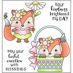 Spring Fox Stamp Set