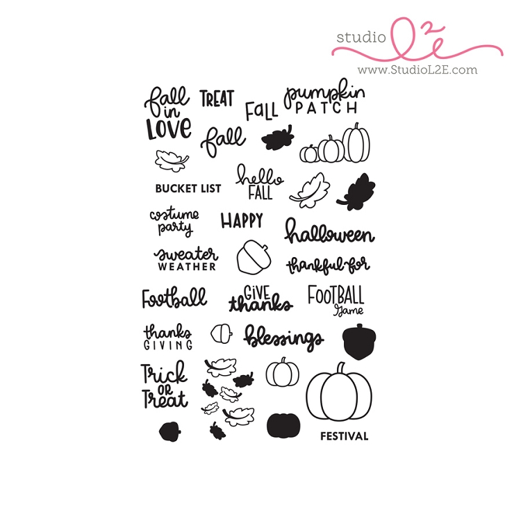 Fall in Love Stamp Set