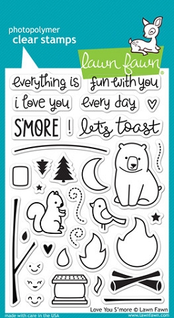 Love You S'more Stamp Set
