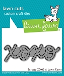 Scripty XOXO Lawn Cuts
