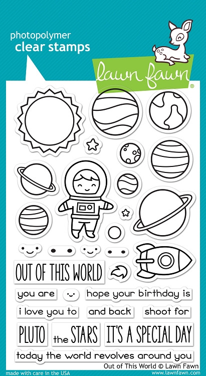 Out of this World Stamp Set