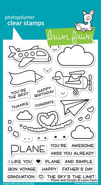 Plane and Simple Stamp Set