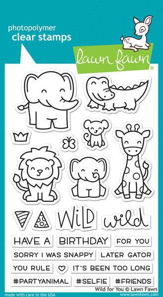 Wild for You Stamp Set