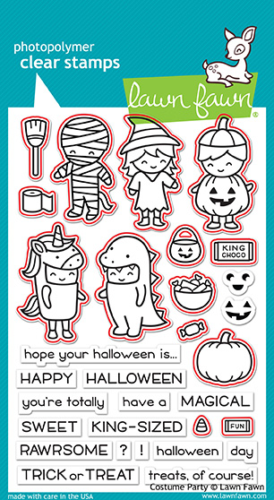 Costume Party Stamp Set