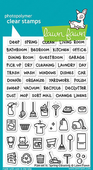 Plan On It: Spring Cleaning Stamp Set