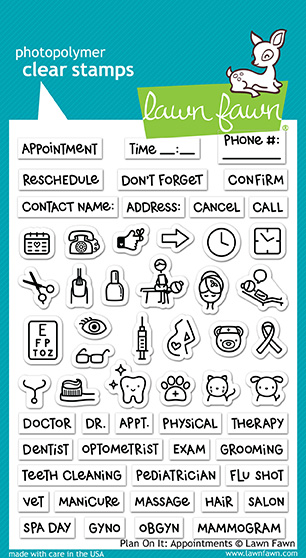Plan On It: Appointments Stamp Set