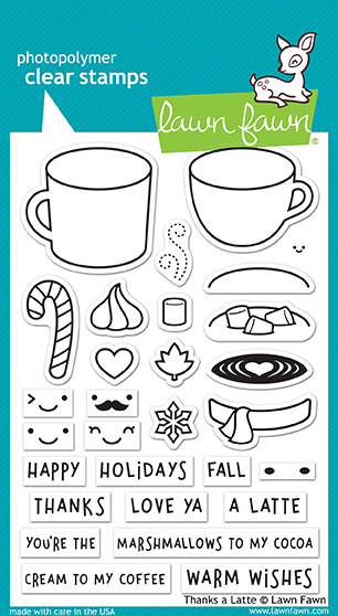 Thanks a Latte Stamp Set