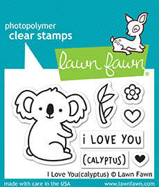 I Love You(Calyptus) Stamp Set