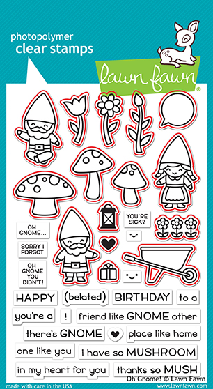 Oh Gnome! Stamp Set