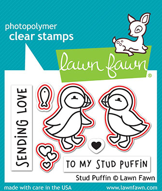 Stud Puffin Stamp Set