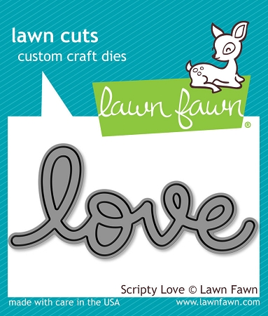 Scripty Love Lawn Cuts