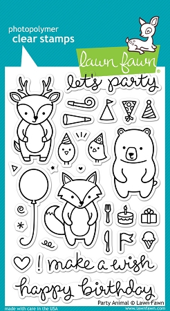 Party Animal Stamp Set