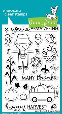 Happy Harvest Stamp Set
