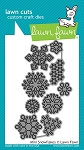 Mini Snowflakes Lawn Cuts