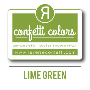 Lime Green Dye Ink Pad