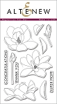 Magnolias For Her Stamp Set
