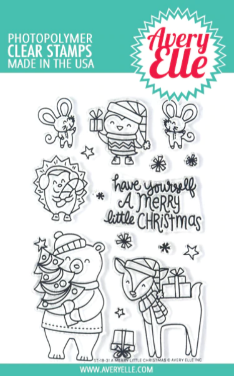 A Merry Little Christmas Stamp Set