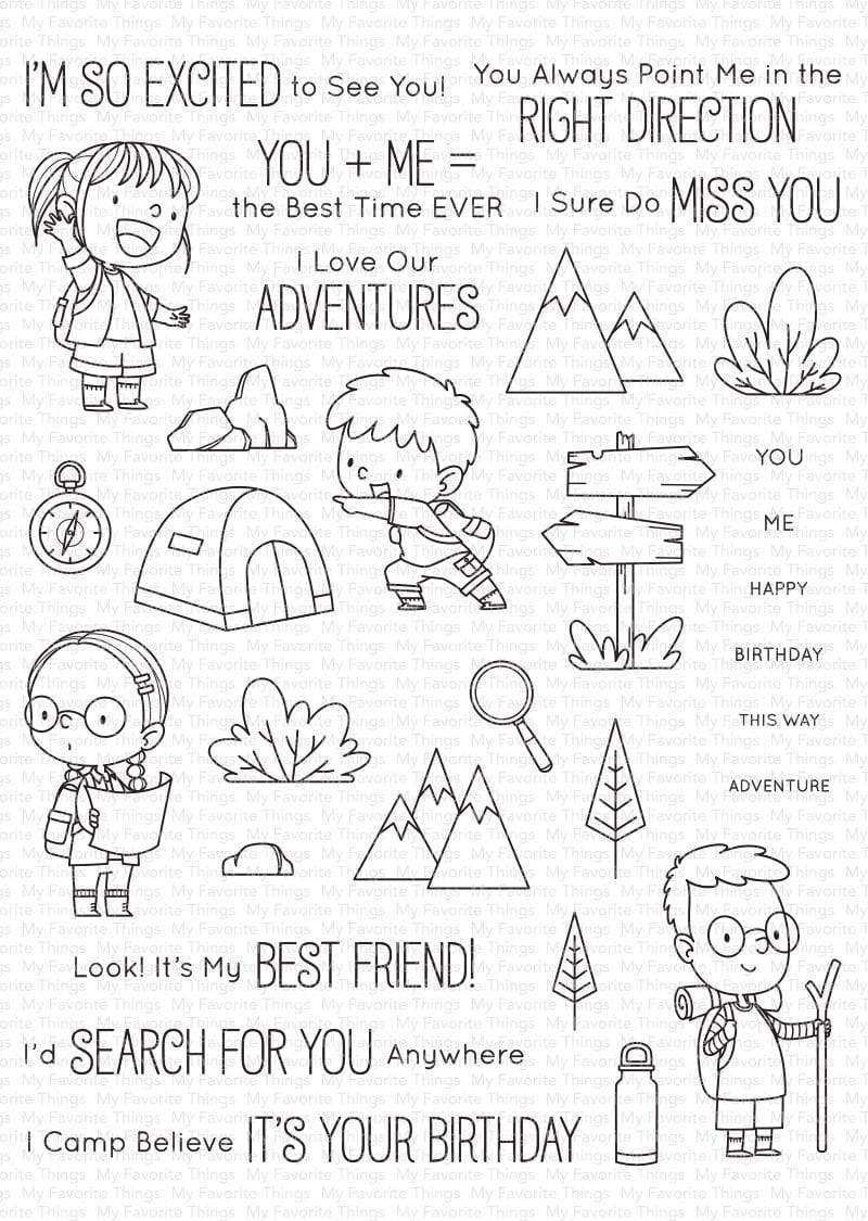 Adorable Adventures Stamp Set