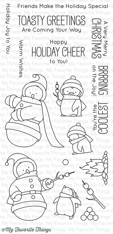 Toasty Greetings Stamp Set