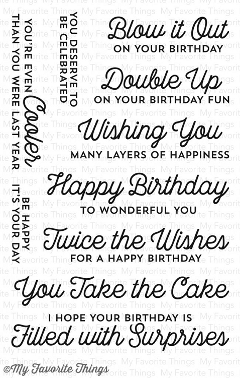 Twice the Wishes Stamp Set